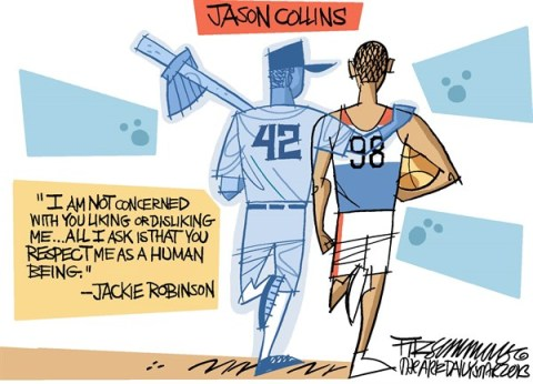 David Fitzsimmons - The Arizona Star - Jason Collins - English - Jason Collins, sports, LGBT, lesbians, gays