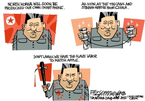 David Fitzsimmons - The Arizona Star - North Korea - English - North Korea