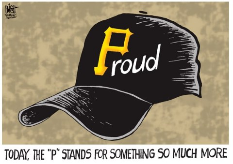Randy Bish - Pittsburgh Tribune-Review - LOCAL- PITTSBURGH PIRATES, COLOR - English - PITTSBURGH, PIRATES, BASEBALL, PLAYOFFS