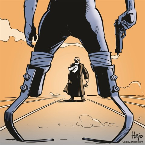 Hajo de Reijger - The Netherlands - oscar Pistolius - English - Oscar Pistorius, Pistorius, blade runner, prostheses, gun, judge, court, duel, runner, shooting, murder, girlfriend, Reeva Steenkamp,