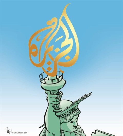 Hajo de Reijger - The Netherlands - Al Jazeera America - English - Al Jazeera America, AJAM, statue of liberty, Al Jazeera, America, USA, Press, news, news channel, Qatar