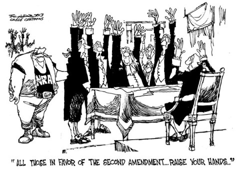 127380 600 NRA   Raise Your Hands cartoons