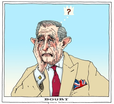 Joep Bertrams - The Netherlands - doubt - English - prince charles, abdication, prince of wales, uk,