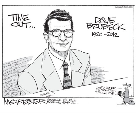 Jazz Ambassador © Mark Streeter,The Savannah Morning News,jazz,ambassador,dead,death,jazz,ambassador,dave brubeck, best of inmemoriam,inmemoriam 2012