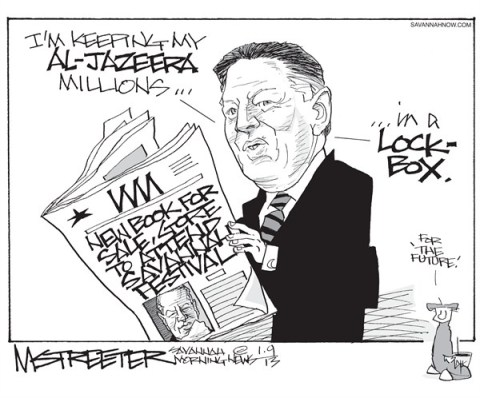 Current TV Currency © Mark Streeter,The Savannah Morning News,al gore,book,festival,savannah