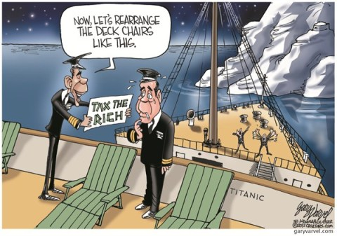 Tax The Rich © Gary Varvel,The Indianapolis Star News,tax,rich,obama