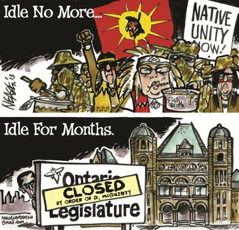 Idle © Steve Nease,Freelance,idle,legislature,unity,ontario