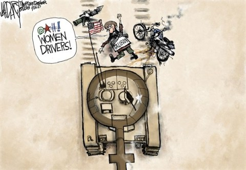 Jeff Darcy - The Cleveland Plain Dealer - Women Drivers - English - women,soldiers,tank,drivers,taliban,fight,combat,women-in-combat