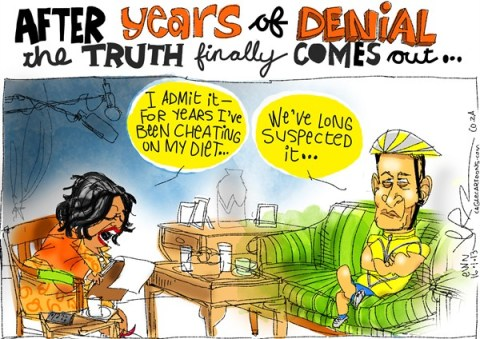 Jeremy Nell - The New Age, South Africa - Years of Denial - English - oprah,diet,lance armstrong,doping,steriods,truth,admission,cycling,armstrong-admission