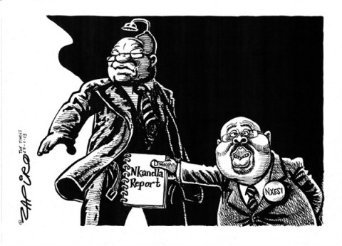 126382 600 Nkandla Report cartoons