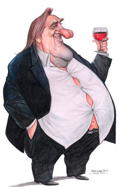 Petar Pismestrovic - Kleine Zeitung, Austria - Gerard Depardieu - English - Gerard Depardieu, France, Russia, Tax, Putin, Politic, Movie