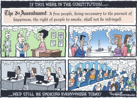 Bob Englehart - The Hartford Courant - Second Amendment - English -