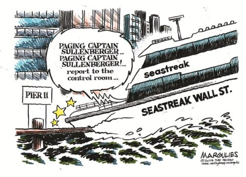 Jimmy Margulies - The Record of Hackensack, NJ - Ferry crash color - English - Ferry crash, Seastreak Wall Street, Seastreak Wall Street ferry crash, Ferry crash in NYC, National Transportation Safety Board, Captain Sully Sullenberger