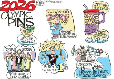 Pat Bagley - Salt Lake Tribune - LOCAL 2026 Olympics - English - Olympics, 2026, Salt Lake, Utah