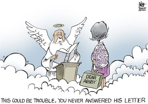 Randy Bish - Pittsburgh Tribune-Review - DEAR ABBY, RIP, COLOR - English - DEAR ABBY,ABIGAIL VAN BUREN,ADVICE,COLUMN,COLUMNIST, best of inmemoriam 2013,best of inmemoriam