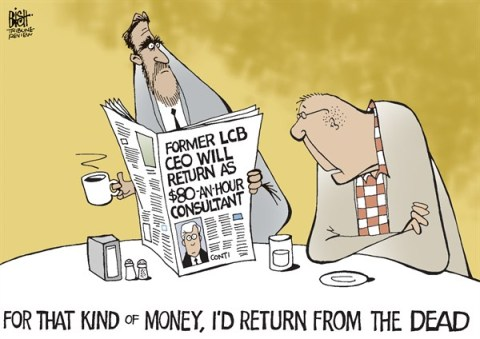 Randy Bish - Pittsburgh Tribune-Review - LOCAL- PA LCB CEO, COLOR - English - PENNSYLVANIA, LCB, LIQUOR, CEO