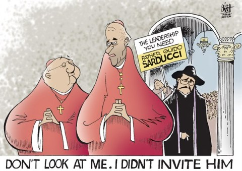 127378 600 TROUBLE AT THE VATICAN cartoons