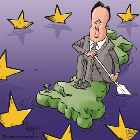 Hajo de Reijger - The Netherlands - Cameron and the EU - English - Cameron, David Cameron, UK, GB, England, EU, Europe, speech, exit, brixit