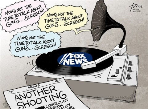 Rob Tornoe - Media Matters - Gun Violence Fox News - English - Connecticut, shooting, Fox News, media, gun violence, guns, record, right wing, NRA