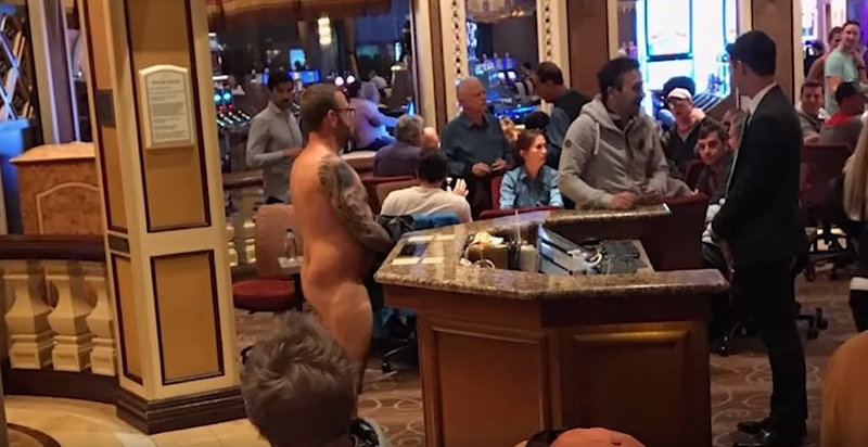 Naked Man Tries To Buy Into Las Vegas Poker Game - Poker News
