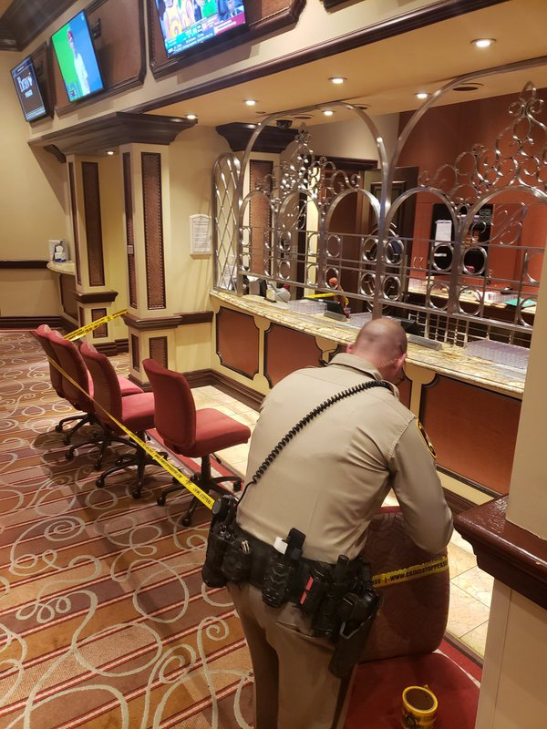 UPDATE Bellagio Poker Room Robber Dies After Shooting, May Have