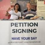 Cruise petition has just 200 names to confirm