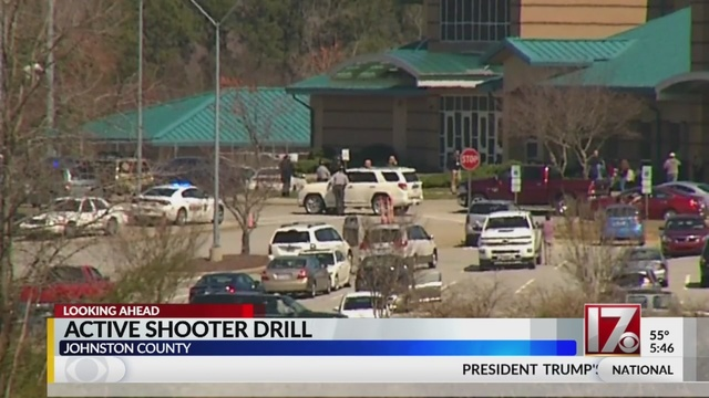 Johnston County Schools to hold active shooter drill Wednesday