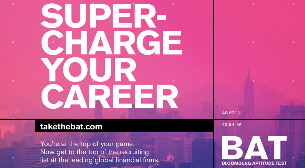 Bloomberg Aptitude Test - Super-charge your career
