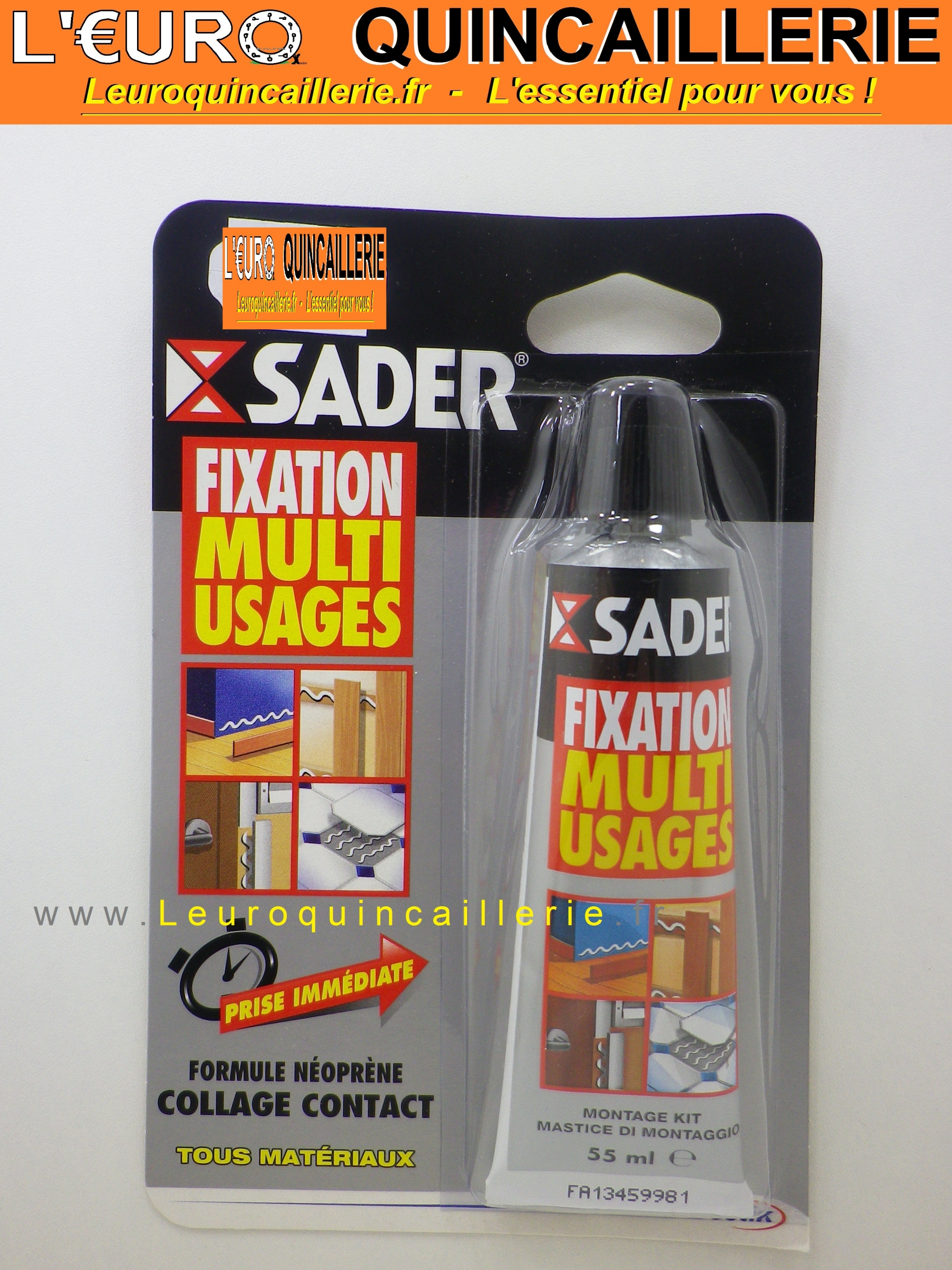 Comment Fixer Un Miroir Sans Percer Beautiful Sader Fixation Multiusage Tous Matriaux Tube Ml