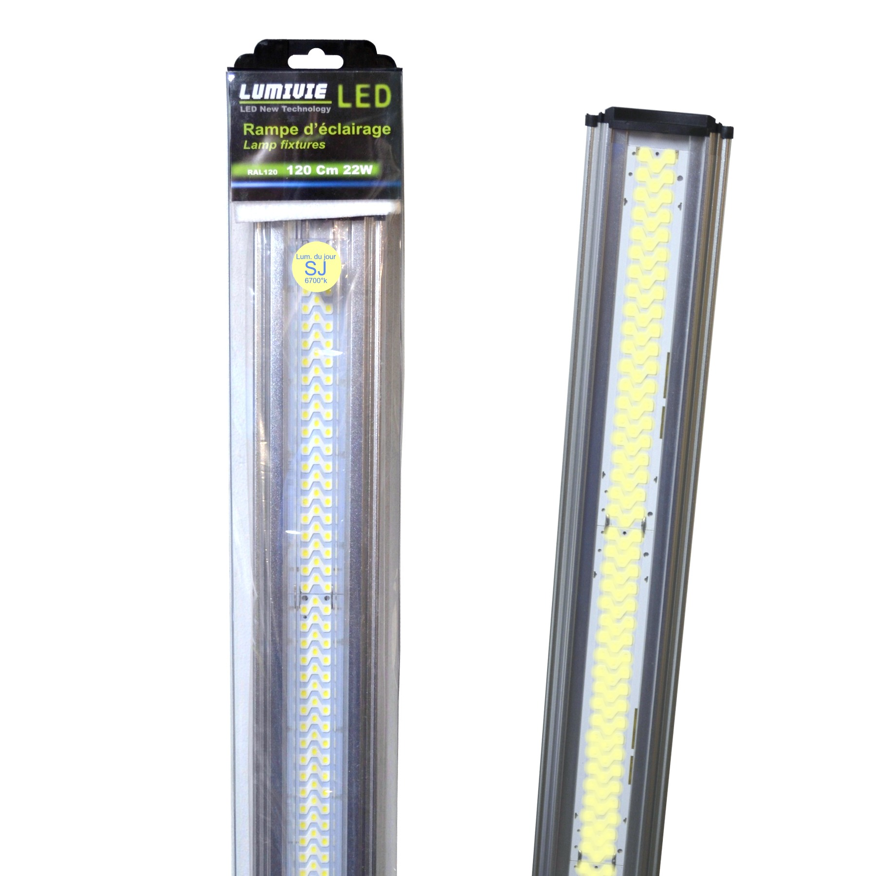 Rampe Eclairage Aquarium Led Rampes D 39 39éclairage à Leds Aquavie Lumivie Pour Eau Douce