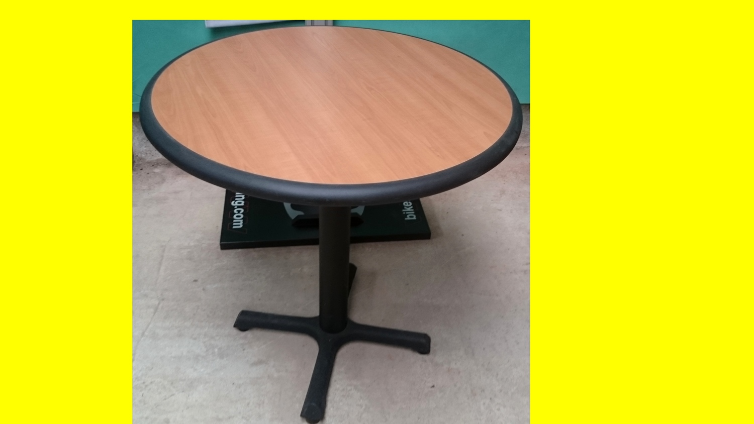 Protection Table Ronde Table Ronde Plateau Bois Et Bord Pvc Protection Dimensions