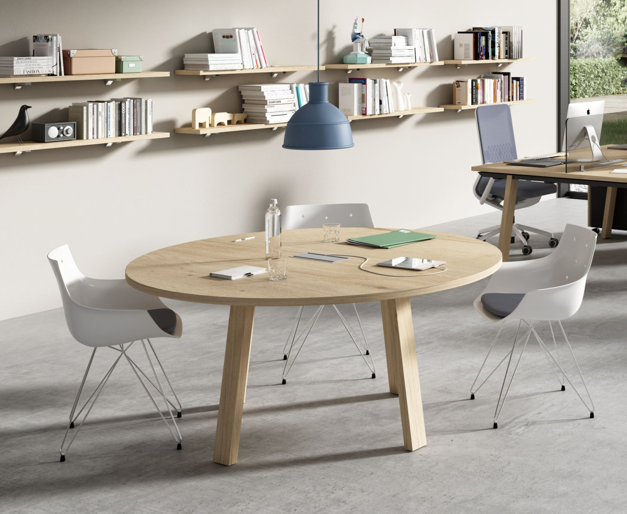 Table En Bois Design Table Ronde