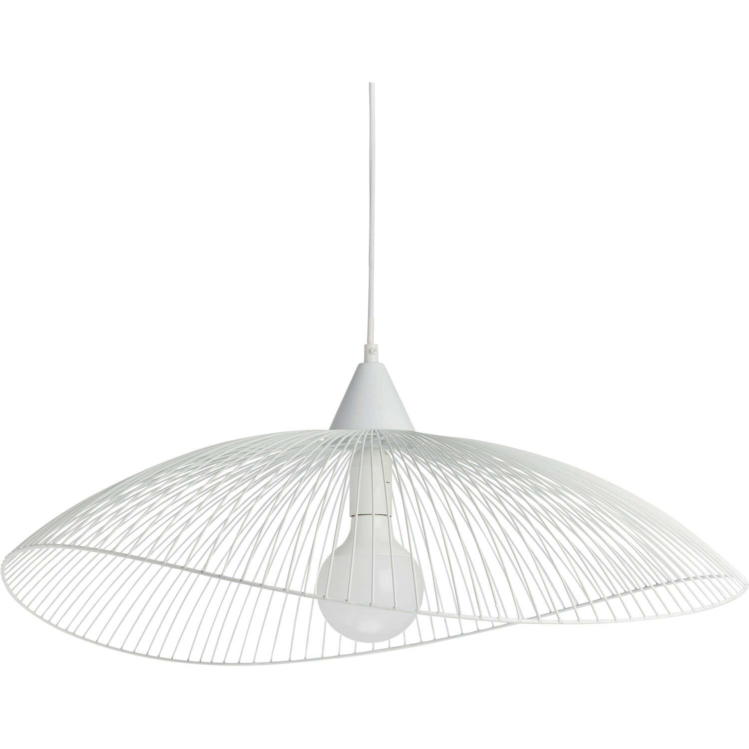 Suspension Blanche Suspension Kasteli Xl Blanche