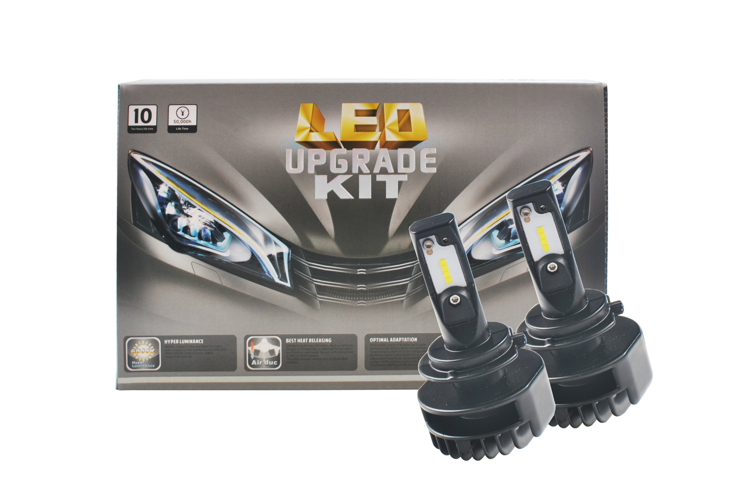 Eclairage Led Moto Kit De Conversion H7 Eclairage Led Pour Auto Ou Moto Kit