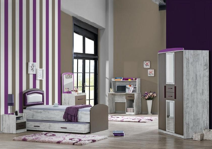 Meuble chambre enfant TREND - Chambre/Chambre Enfant - decomeublefr