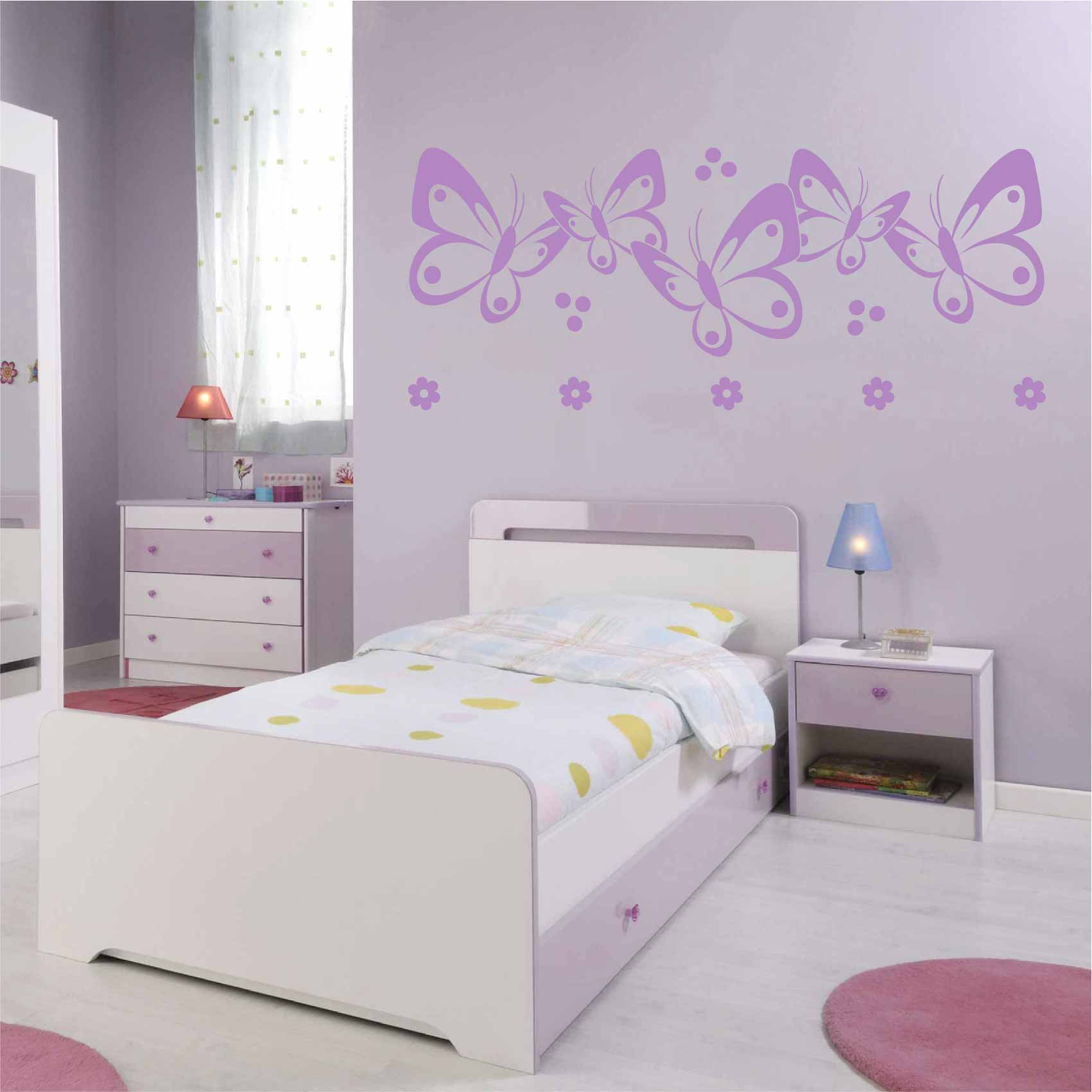 Stickers Papillon Chambre Fille Stickers Papillon Chambre Fille