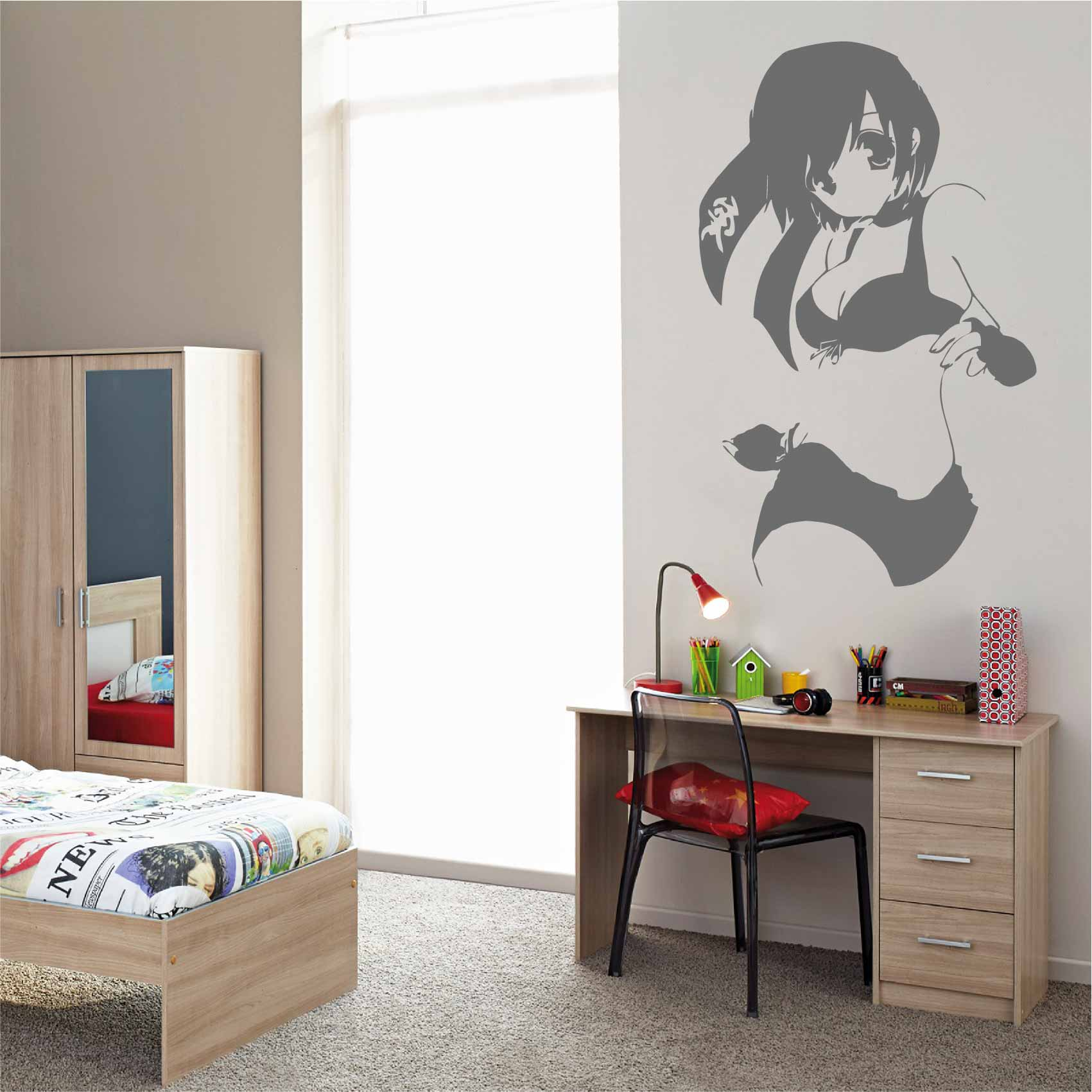 Stickers Chambre Ado Fille Stickers Fille Manga