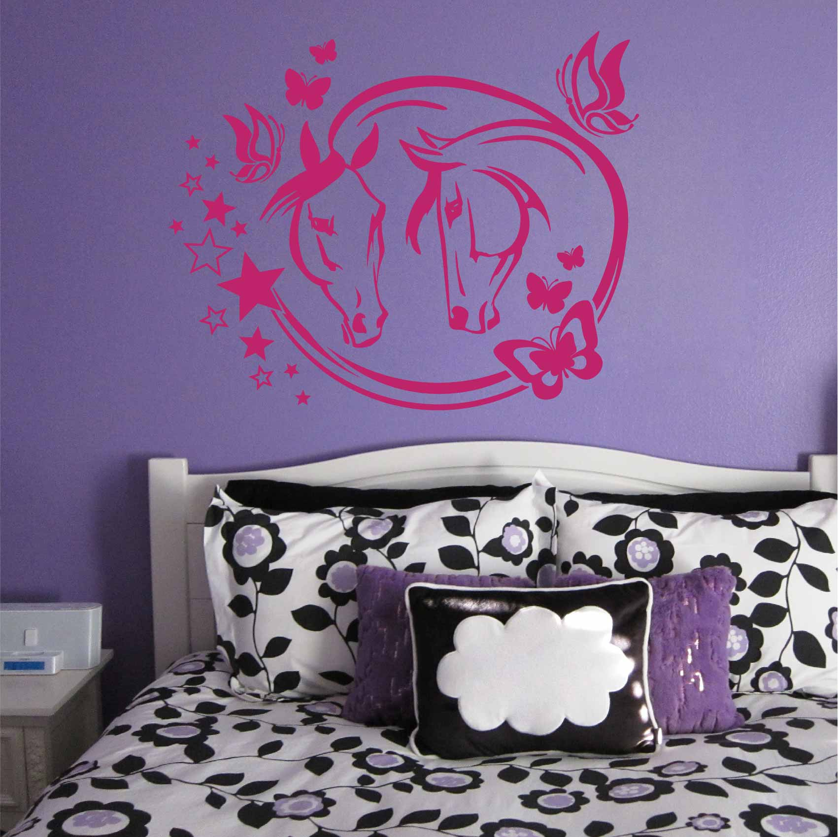 Stickers Papillon Chambre Fille Stickers Chevaux Pour Chambre Fille Interesting Perfect Stickers