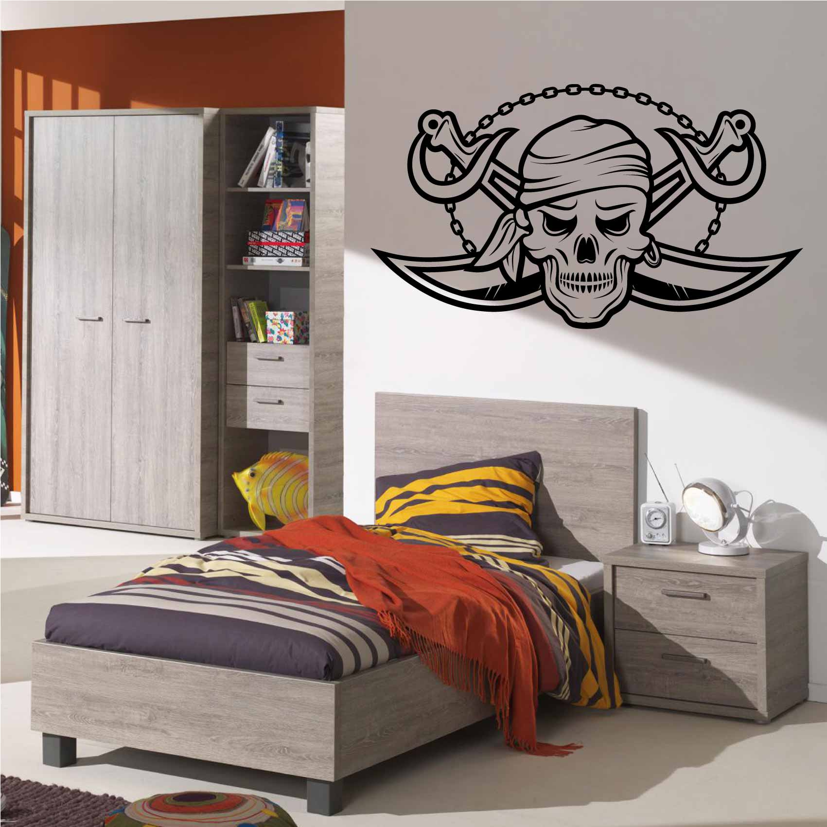 Deco Chambre Pirate Garcon Stickers Chambre Pirate