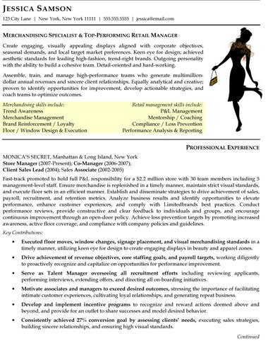 Merchandiser Resume Sample - Unitedijawstates