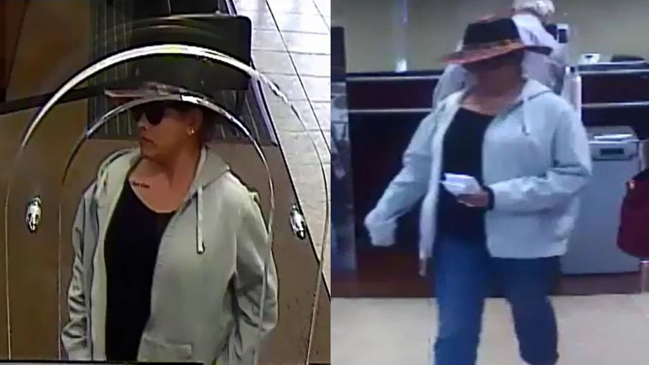 Diy Bank Robber Shirt Woman Man Believed To Be Responsible For Multiple Bank