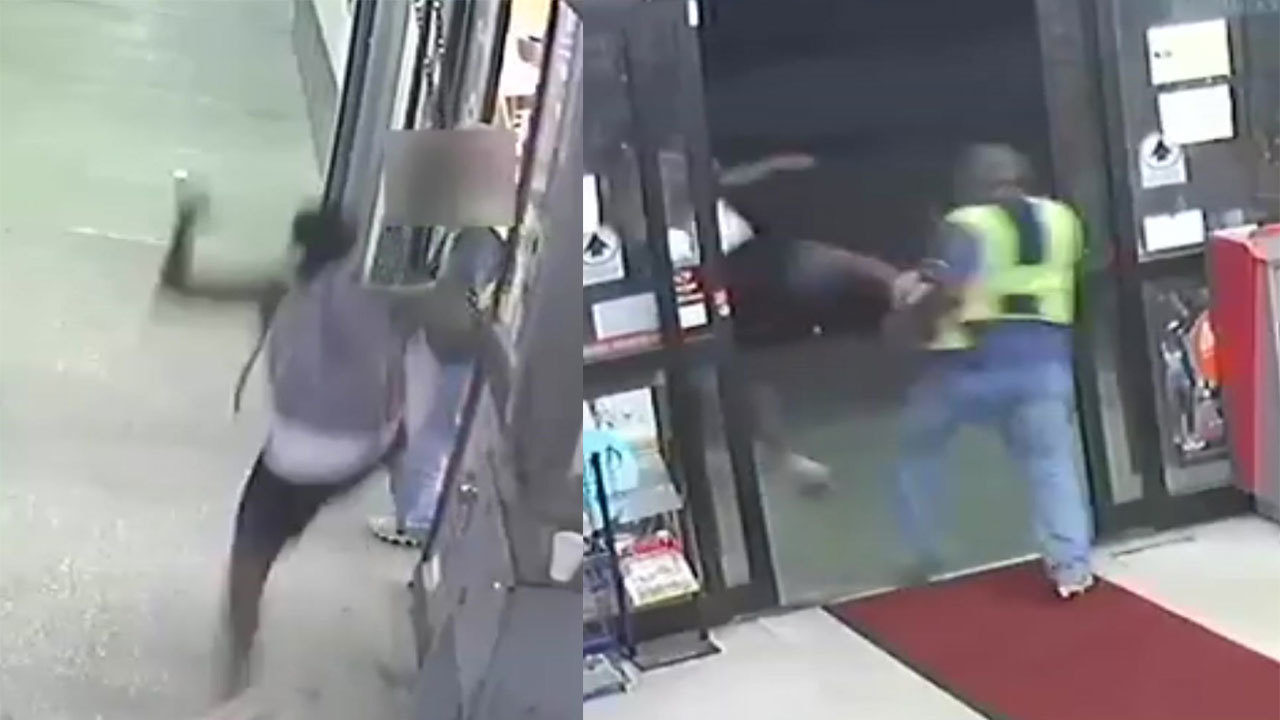 The Security Store Houston Man Runs, Kicks Security Guard In Food Store Robbery In...