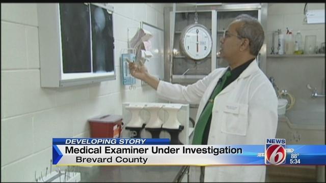 Brevard County Medical Examiner under investigation - medical examiner job description