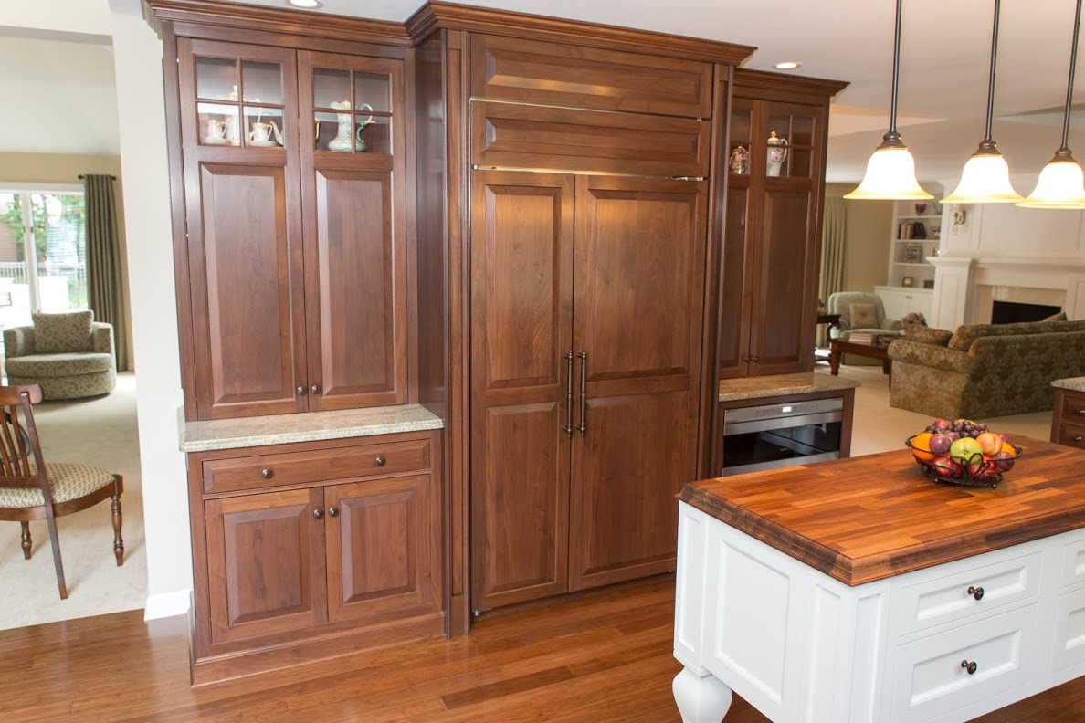 Classic Walnut Kitchen Remodel In Rochester Ny Concept Ii
