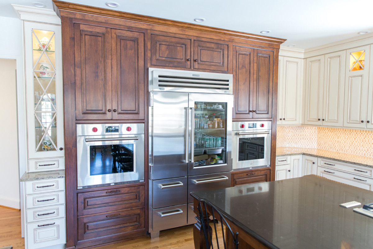 Expansive Wood Mode Cabinetry Kitchen Remodel In Rochester