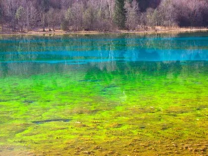 Natural Wonders Photos of Surprisingly Colorful Lakes, Mountains