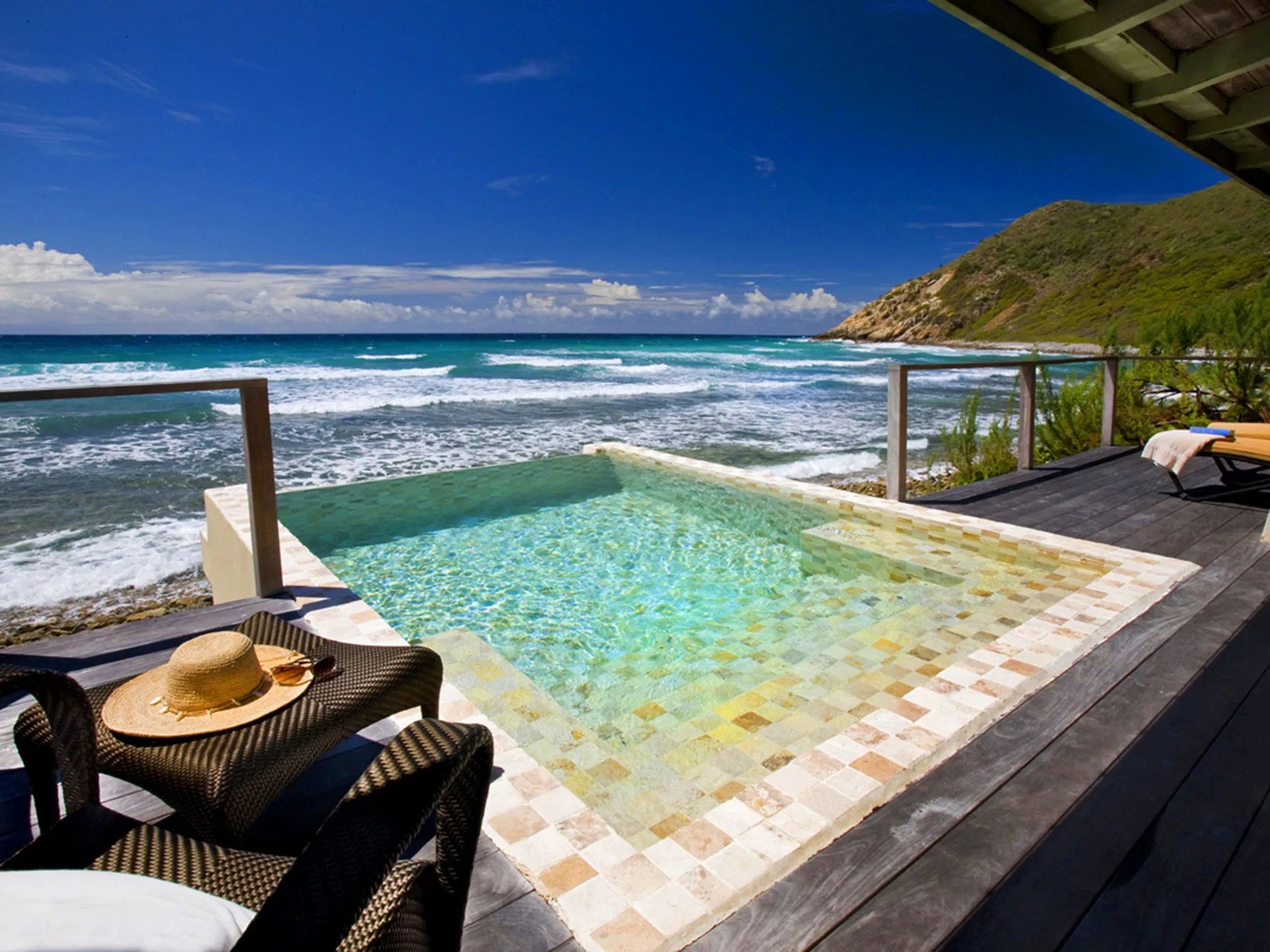 Piscinas Rusticas Best Caribbean Resorts With Private Plunge Pools Photos