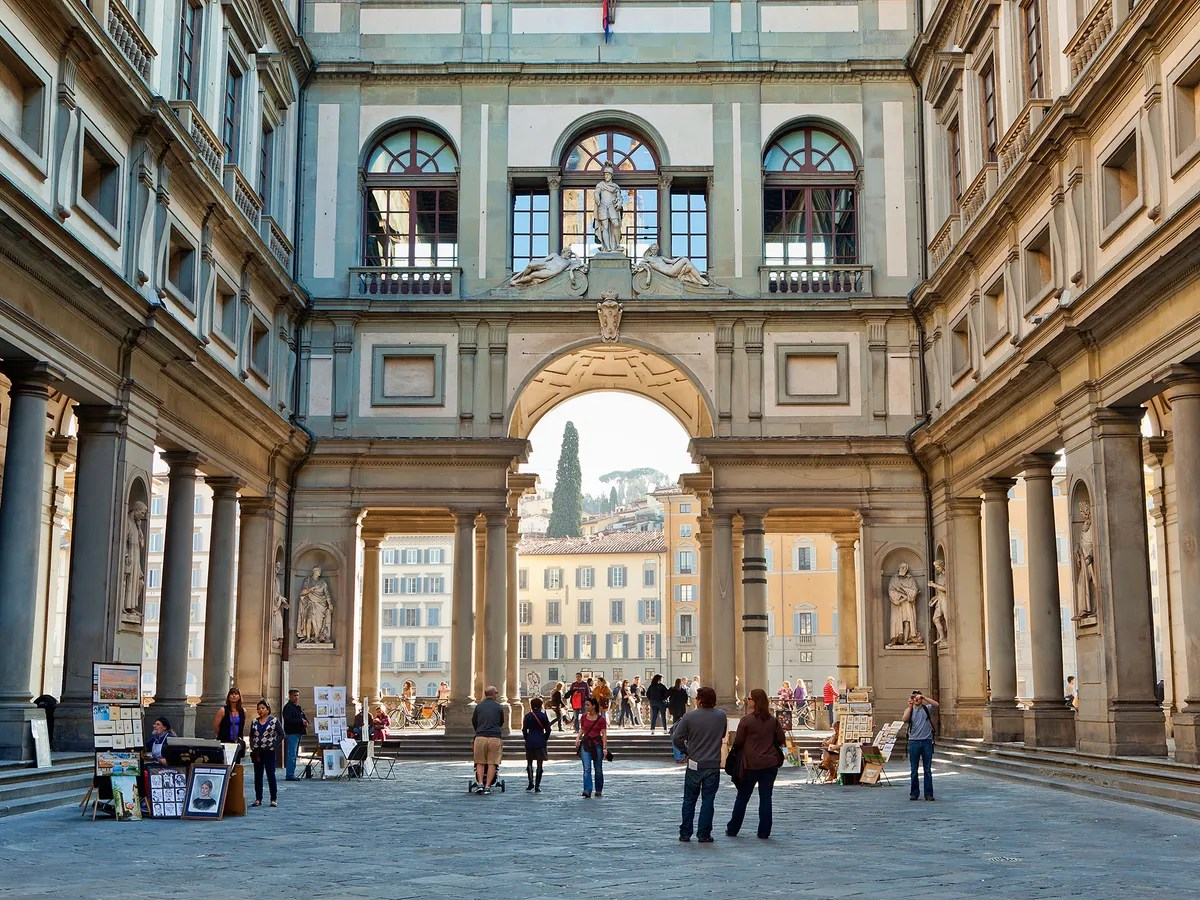 Ufici The Uffizi Gallery Florence Italy Museum Review
