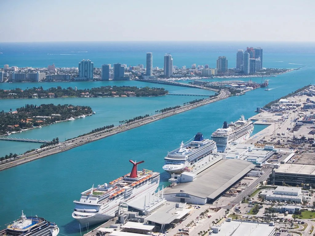Miami Port Virgin Cruises Makes Waves With New Ships Miami Port Condé Nast