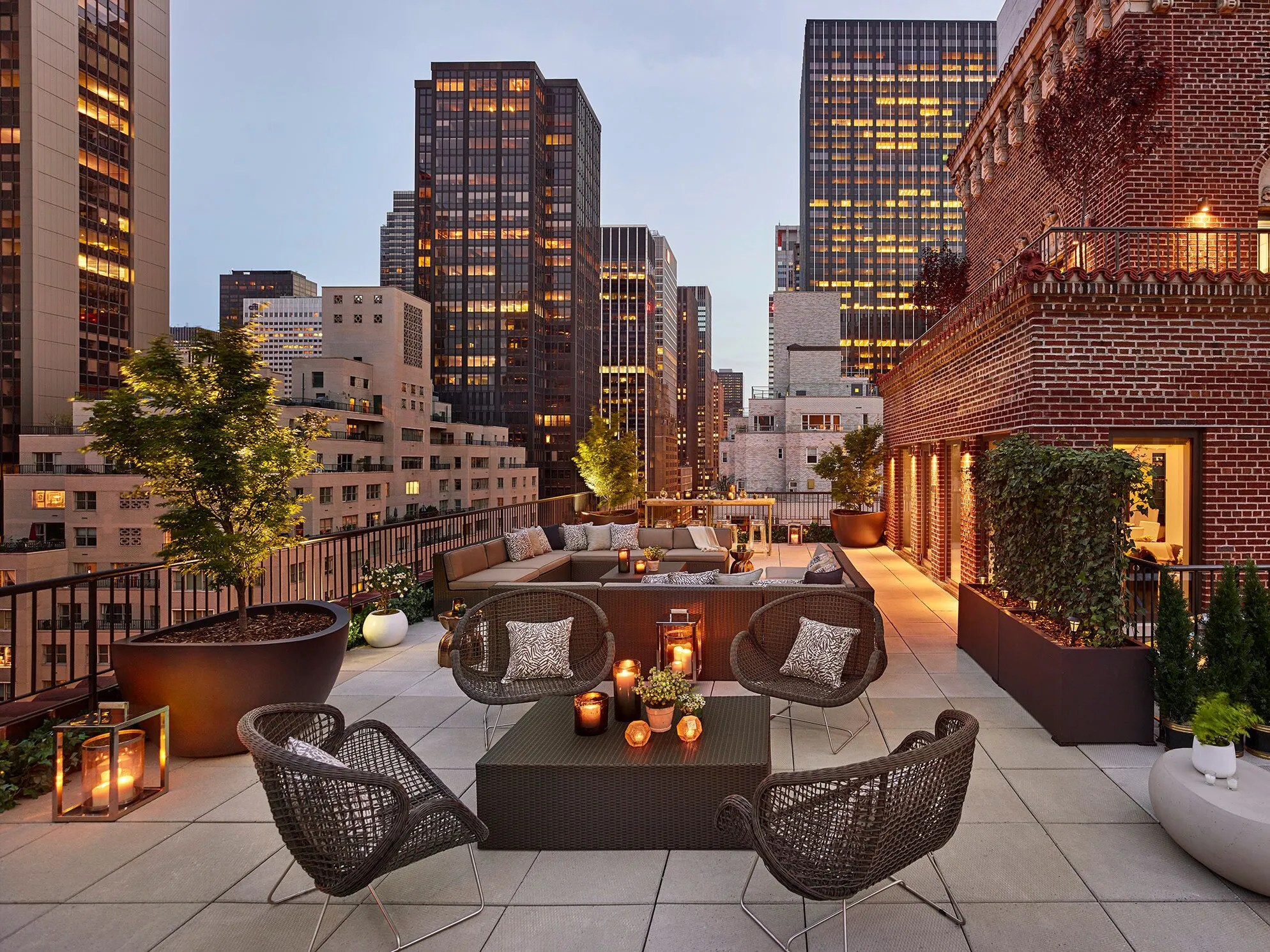 Hotel Toit Terrasse New York 10 Beautiful Nyc Hotel Terraces The Quin Wythe Hotel
